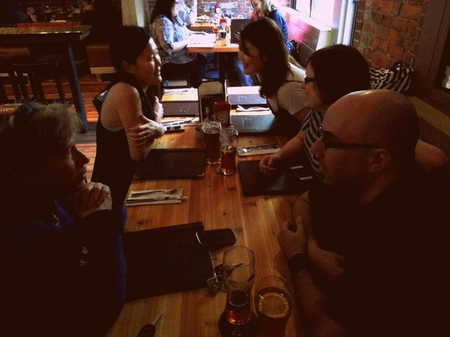 Britz pub dinner